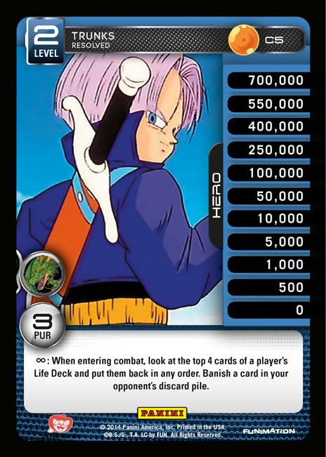 C5 Trunks Resolved Lv2