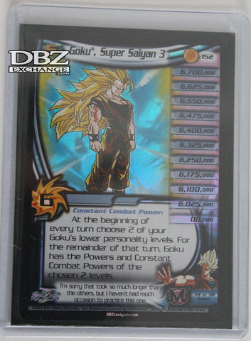 Sealed 152 Goku Super Saiyan 3 Lv5