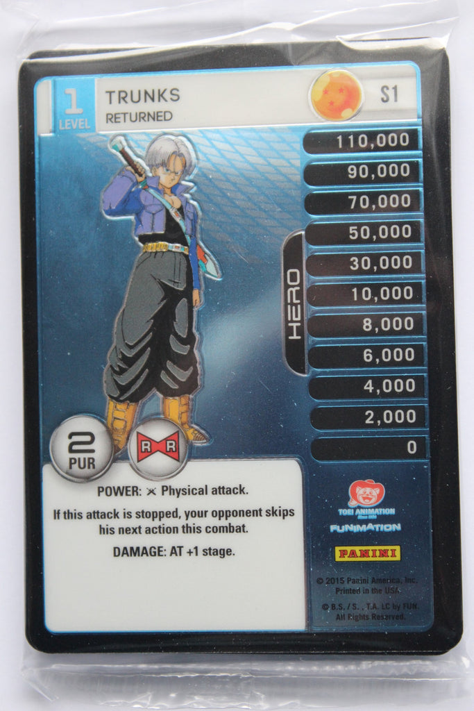 Evolution Deck Pack - Trunks MP Set