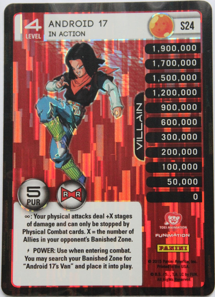 S24 Android 17 In Action Lv4 Foil