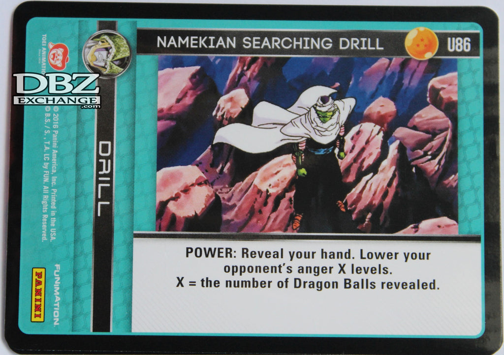 U86 Namekian Searching Drill