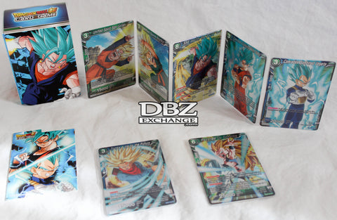 Contents of Expansion Deck Box Set - Mighty Heroes (BE01)