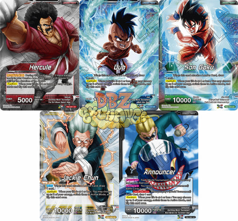 Leader Uncommon Set - World Martial Arts Tournament (TB02)