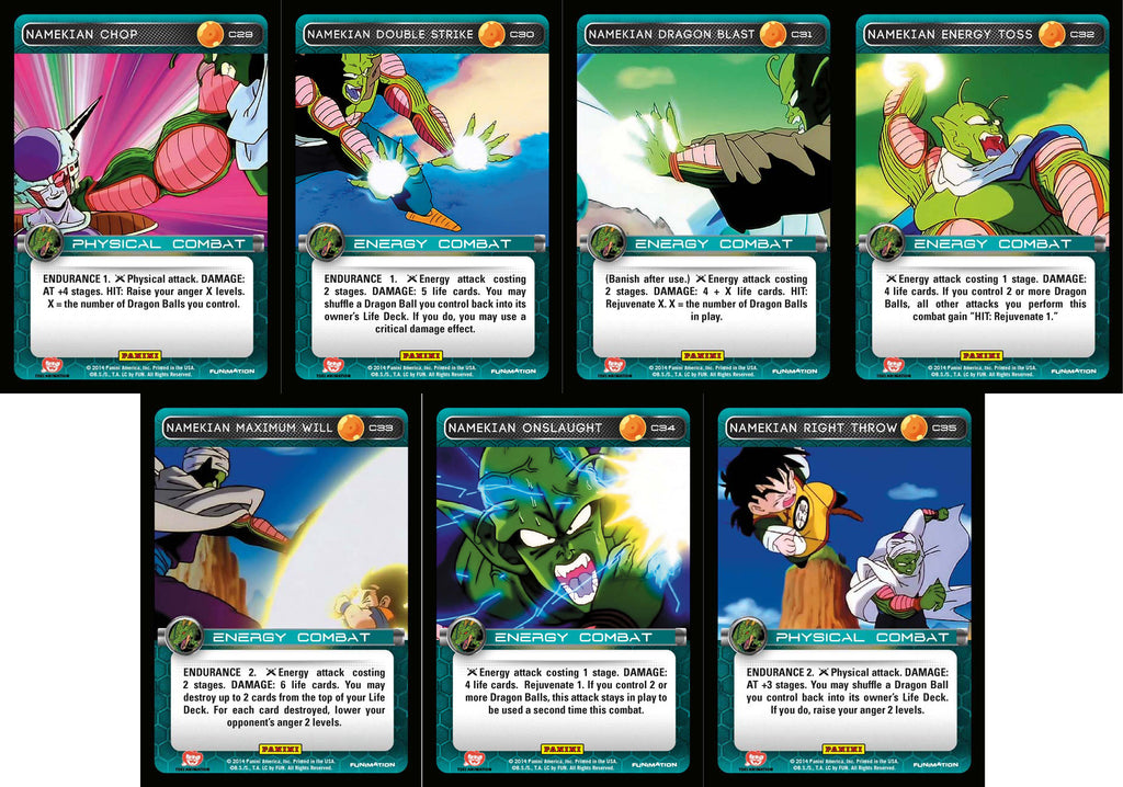 Namekian Booster Common Playset - Base Set