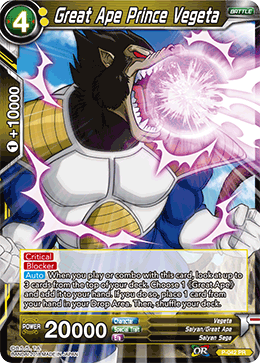 P-042 Great Ape Prince Vegeta