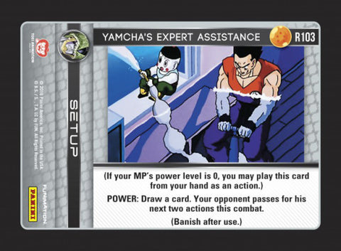 R103 Yamcha's Expert Assistance