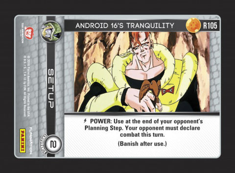 R105 Android 16's Tranquility