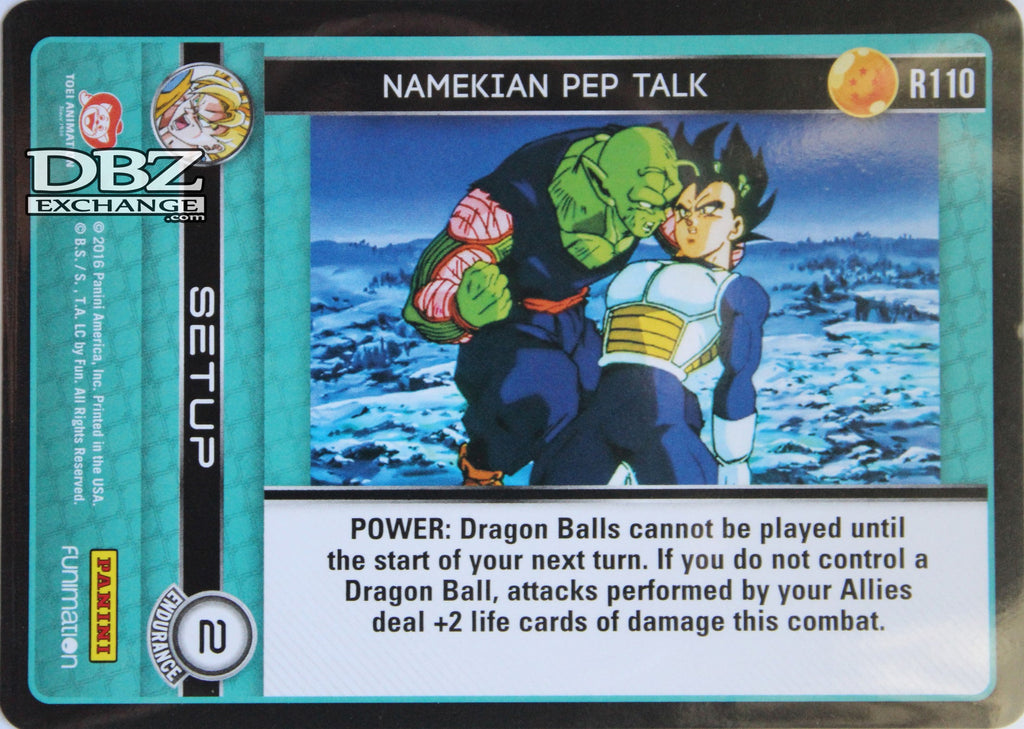 R110 Namekian Pep Talk