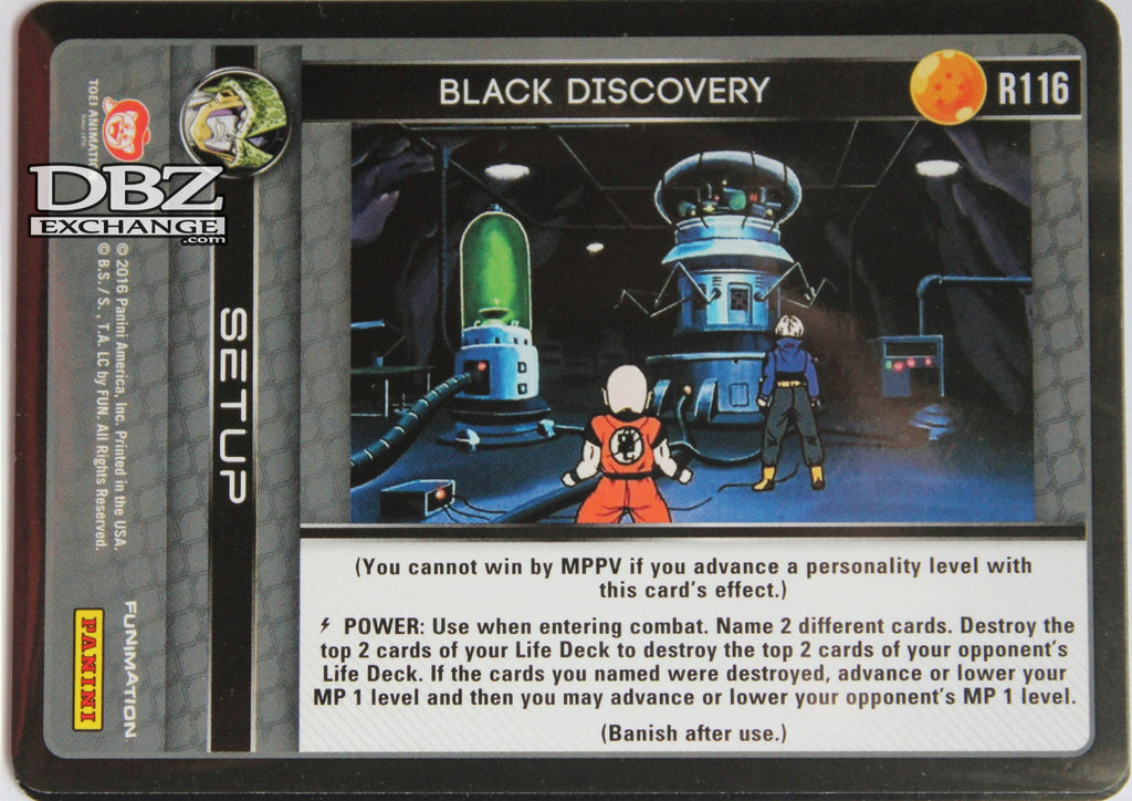 R116 Black Discovery