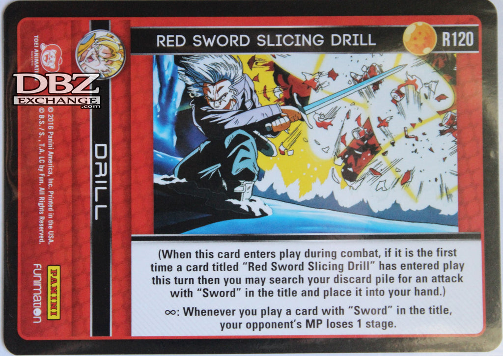 R120 Red Sword Slicing Drill