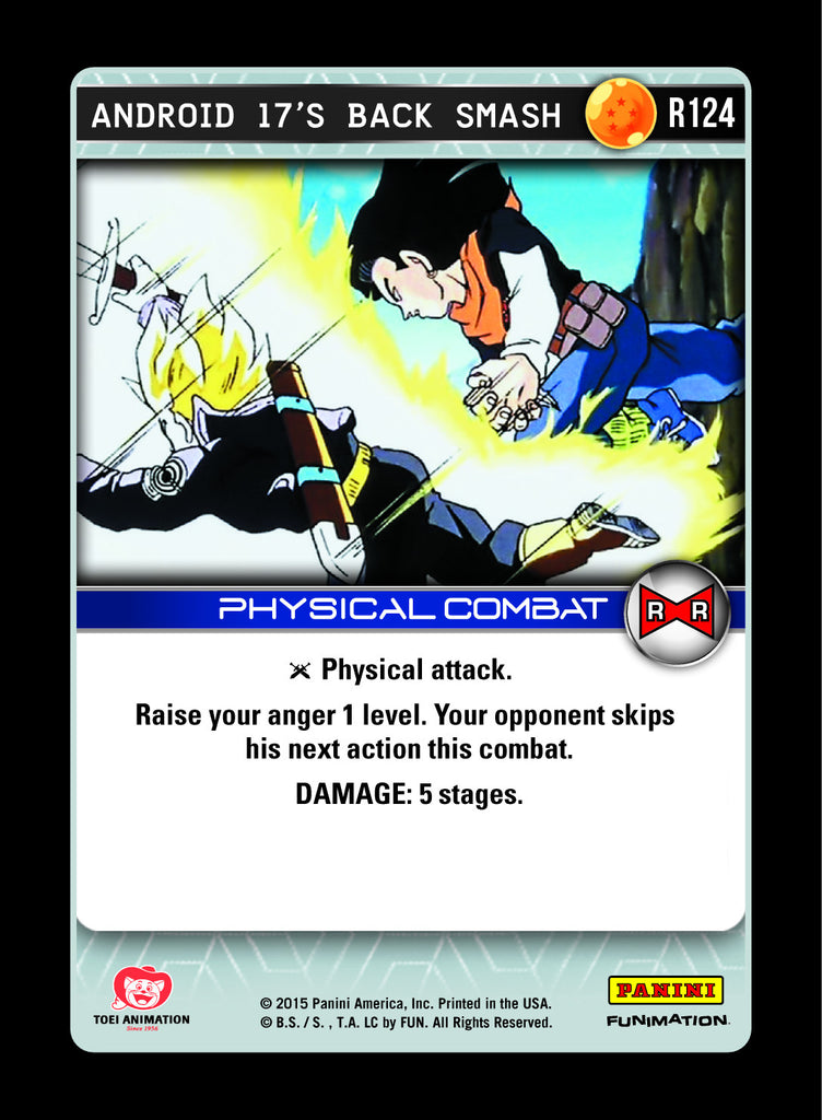 R124 Android 17's Back Smash