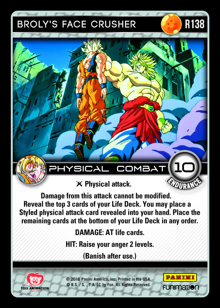 R138 Broly's Face Crusher