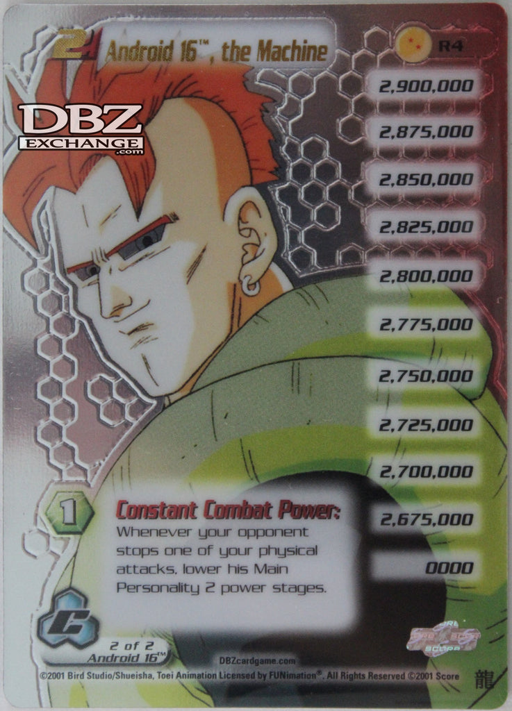 R4 Android 16 the Machine Lv2