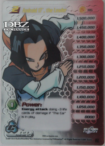 R6 Android 17 the Leader Lv2