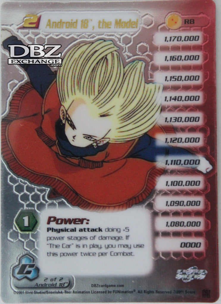 R8 Android 18 the Model Lv2