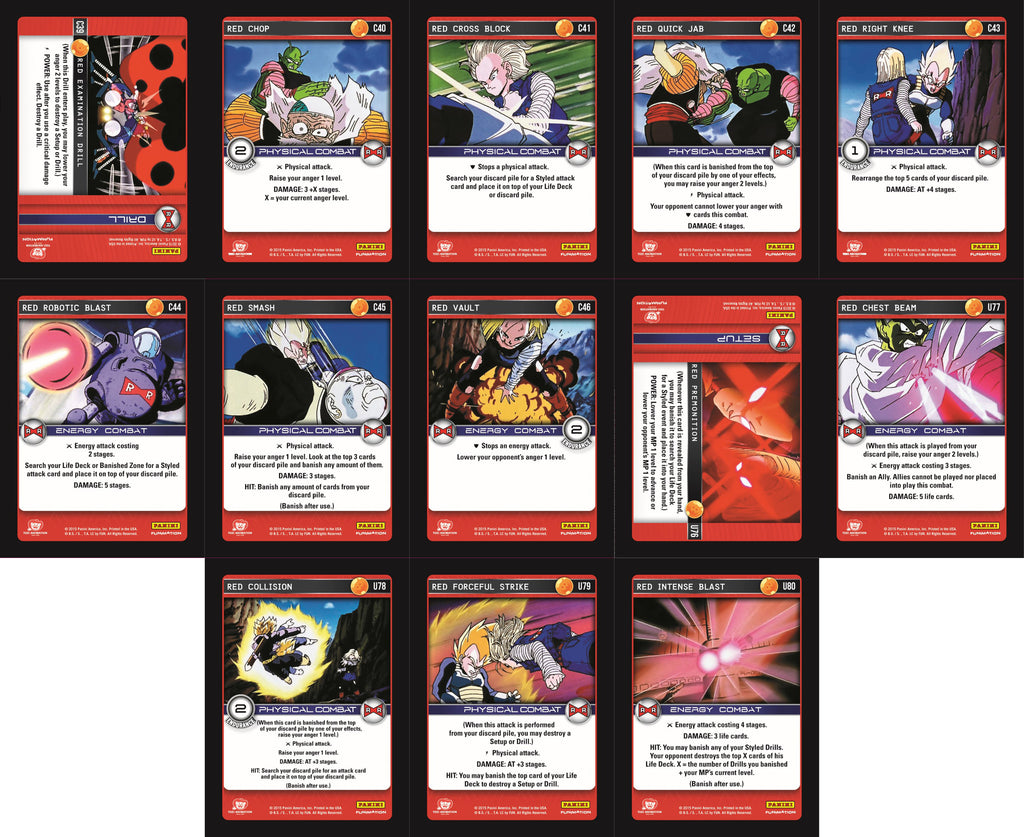Red Booster Playset - Evolution