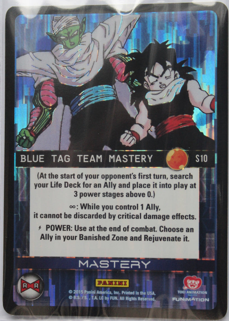 S10 Blue Tag Team Mastery Foil