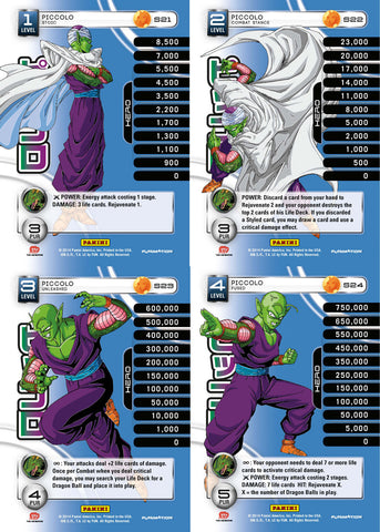 Piccolo Lv1-4 Base Prizm - Base MP Set