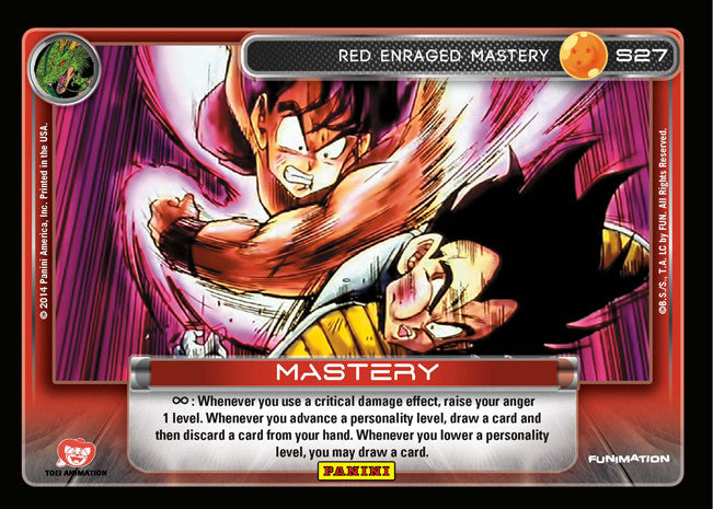 S27 Red Enraged Mastery