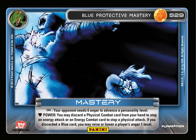 S29 Blue Protective Mastery