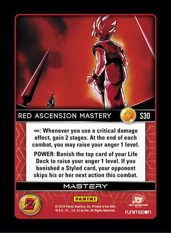S30 Red Acension Mastery
