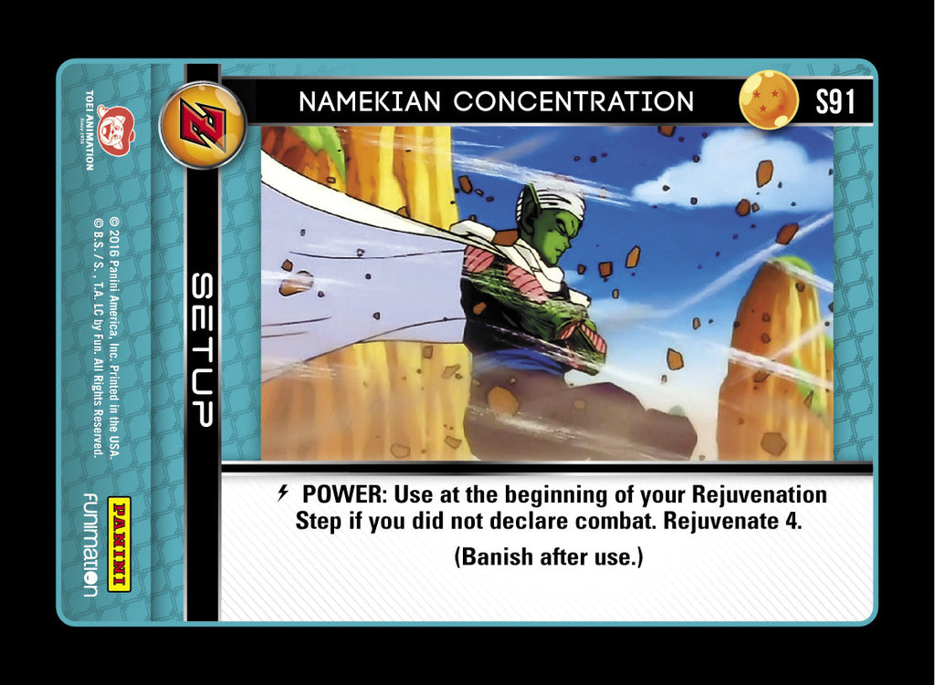 S91 Namekian Concentration