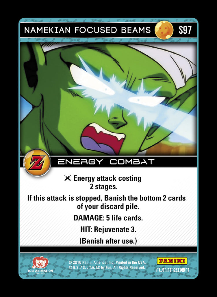 S97 Namekian Focused Beams