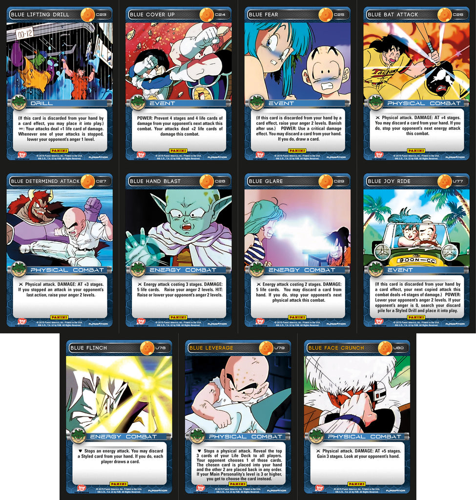 Blue Booster Playset - Heroes & Villains