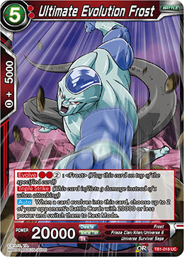 TB1-018 Ultimate Evolution Frost