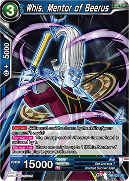 TB1-031 Whis, Mentor of Beerus