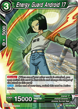 TB1-054 Energy Guard Android 17