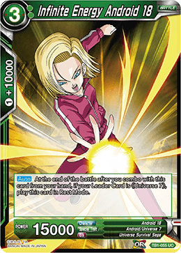 TB1-055 Infinite Energy Android 18