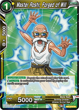 TB1-076 Master Roshi, Forged of Will