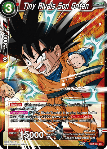 TB2-004 Tiny Rivals Son Goten