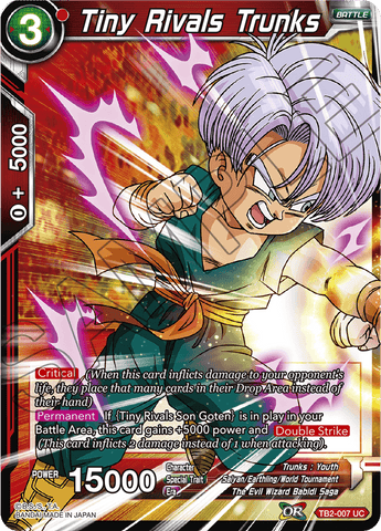 TB2-007 Tiny Rivals Trunks