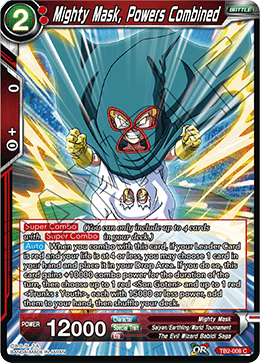 TB2-008 Mighty Mask, Powers Combined