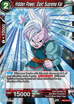 TB2-012 Hidden Power, East Supreme Kai