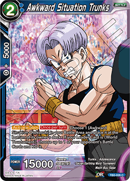 TB2-026 Awkward Situation Trunks