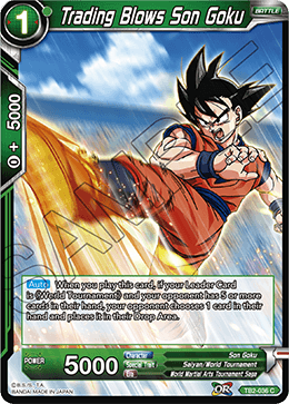 TB2-036 Trading Blows Son Goku