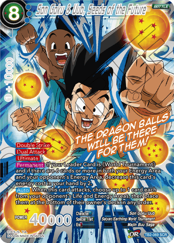 TB2-069 Son Goku & Uub, Seeds of the Future