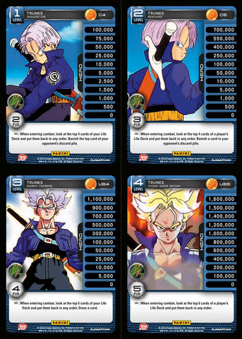 Trunks Lv1-4