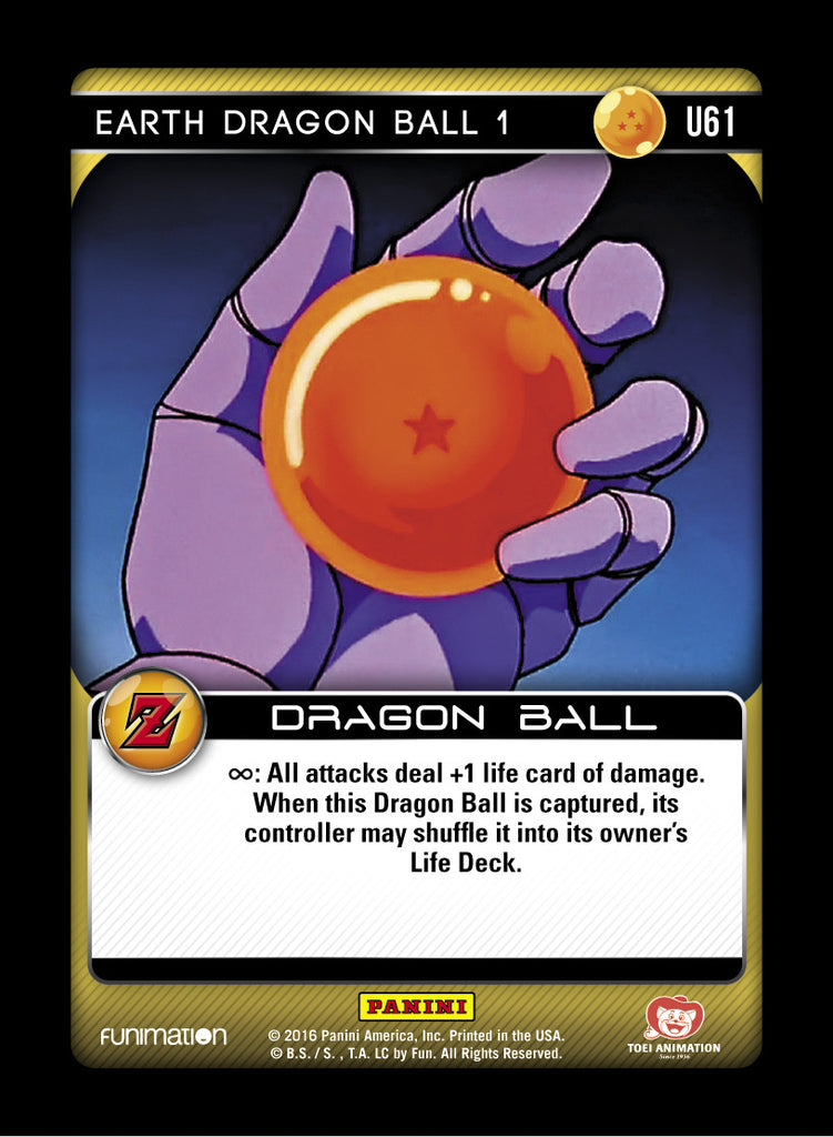 U61 Earth Dragon Ball 1