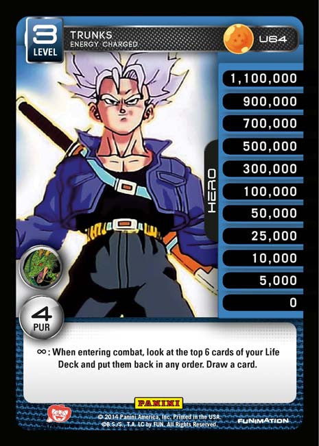 U64 Trunks Energy Charged Lv3