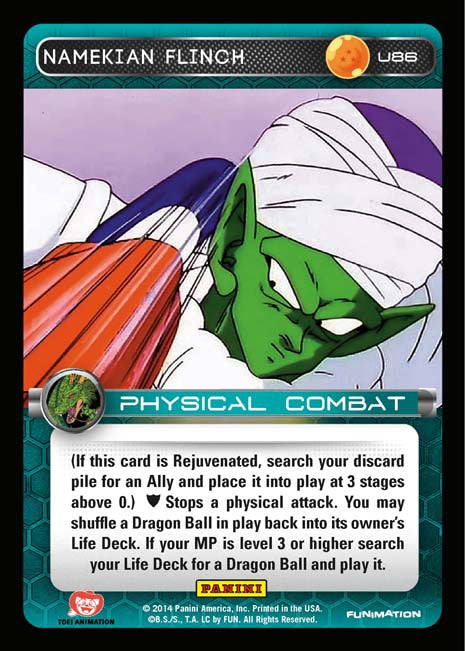U86 Namekian Flinch