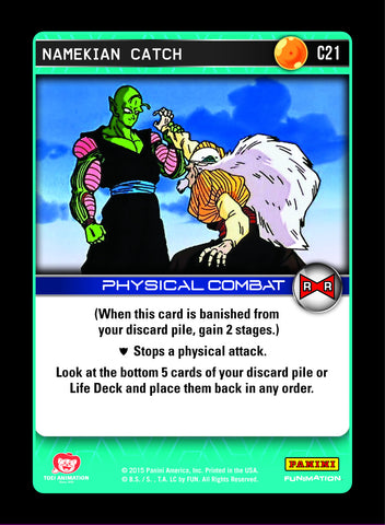C21 Namekian Catch