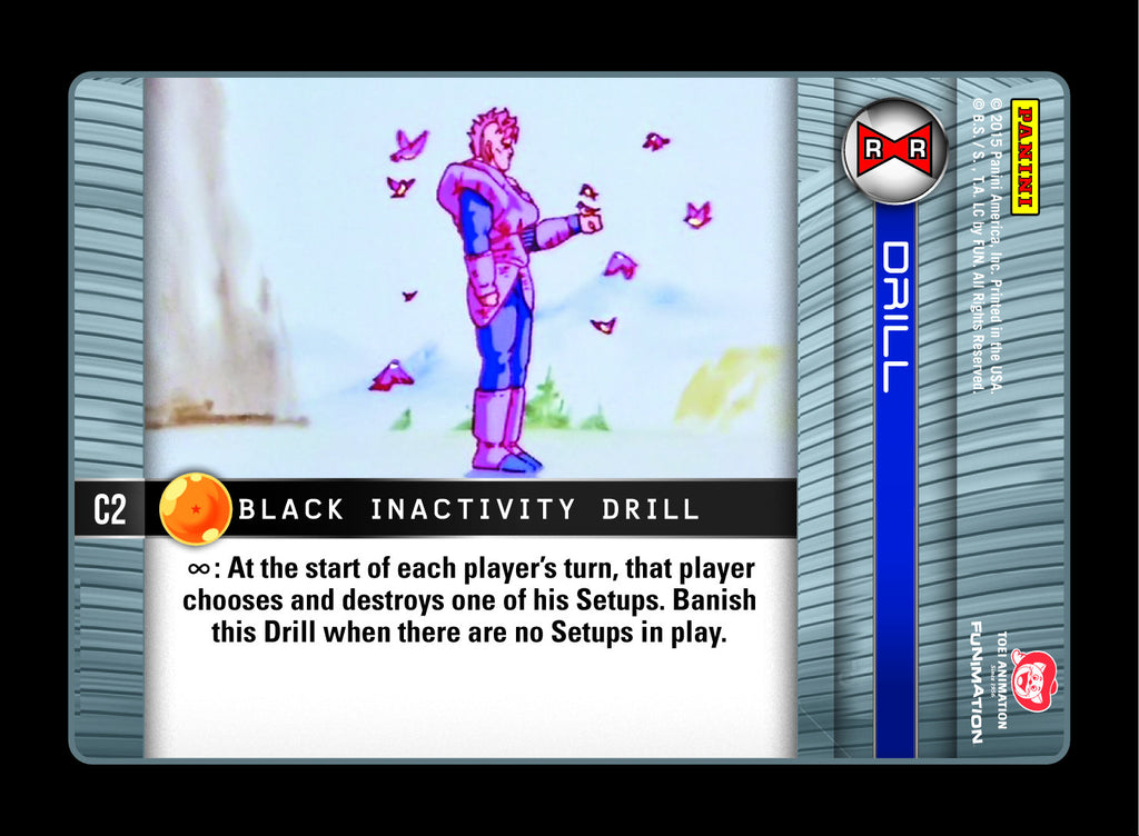 C2 Black Inactivity Drill