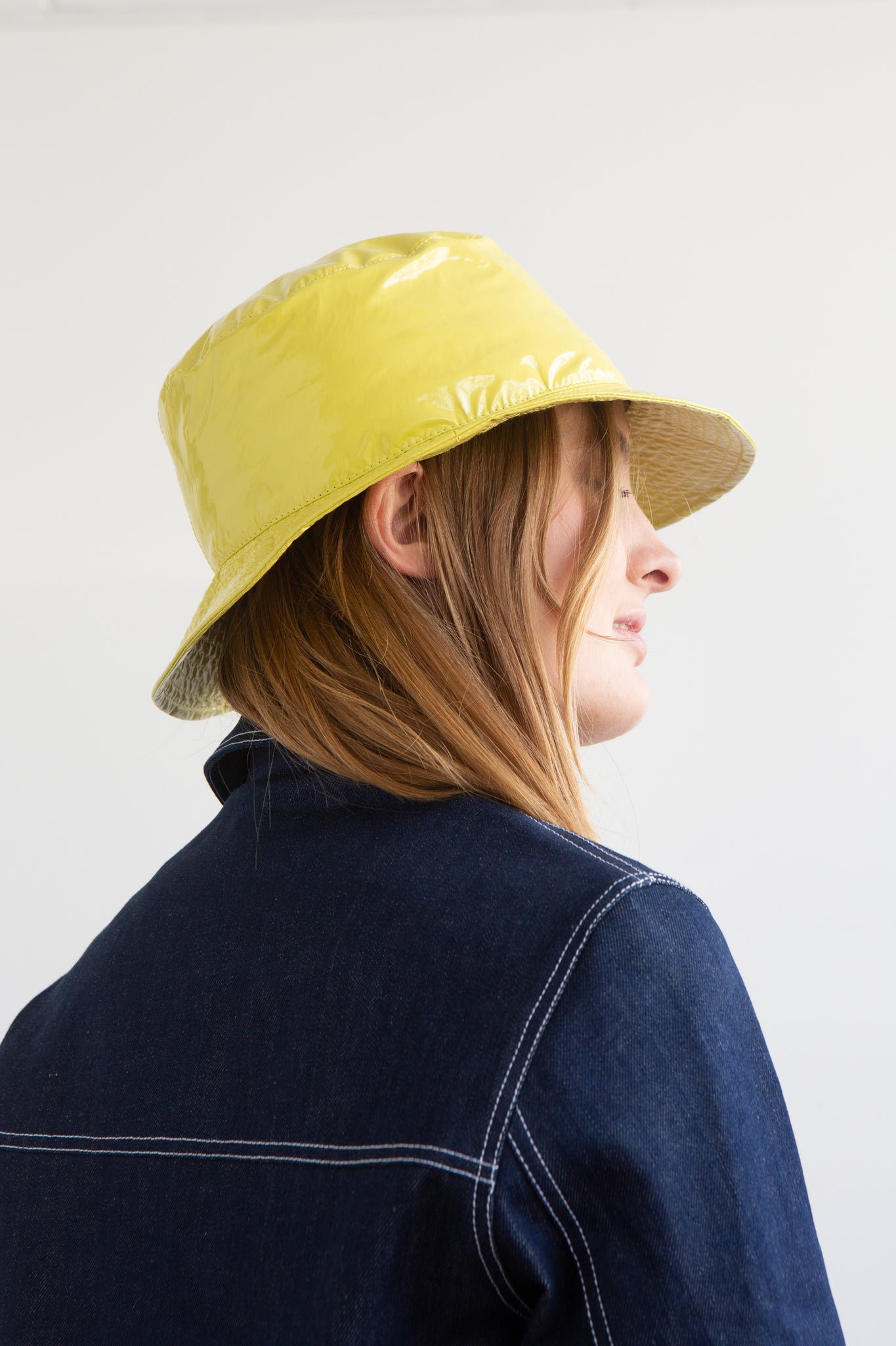 Patent Bucket Hat
