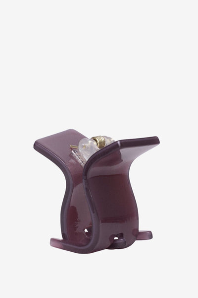 Hvisk Mini Claw Hairclip Purple