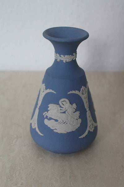 Wedgwood Miniature Bottle Neck Vase