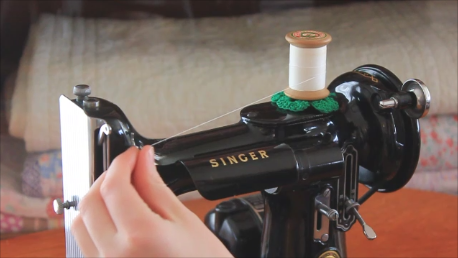 Singer Featherweight 221 Proper Threading Step By Step